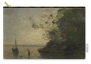 Camille Corot   Evening On The Lake Carry-all Pouch