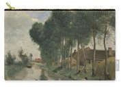 Camille Corot   Landscape At Arleux Du Nord Carry-all Pouch