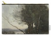 Camille Corot   The Leaning Tree Trunk Carry-all Pouch