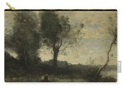 Camille Corot   The Wood Gatherer Carry-all Pouch