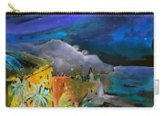 Camogli By Night In Italy Carry-all Pouch