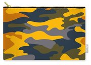Camouflage Pattern Background Seamless Clothing Print, Repeatabl Carry-all Pouch
