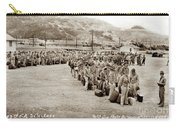 Camp San Luis Obispo Army Base 40th Division Photo 143rd Field Artillery 1941 Carry-all Pouch
