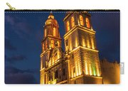Campeche Cathedral At Evening Carry-all Pouch