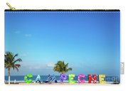 Campeche Sign And Sea Carry-all Pouch