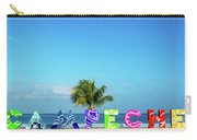 Campeche Sign And Sea View Carry-all Pouch