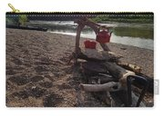 Campfire Cooking Soon - Indiana Canoeing Carry-all Pouch