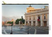 Campidoglio Square In Rome Carry-all Pouch