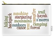 Camping Subway Art Carry-all Pouch