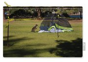Camping With Swamp Wallaby Carry-all Pouch