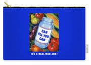 Can All You Can -- Ww2 Carry-all Pouch