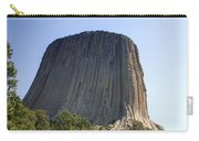 Can You Find The Climbers On Devils Tower Wyoming -1 Carry-all Pouch