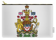 Canada Coat Of Arms Carry-all Pouch