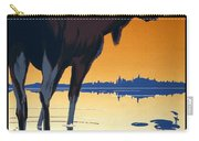Canada For Big Game Travel Canadian Pacific - Moose - Retro Travel Poster - Vintage Poster Carry-all Pouch
