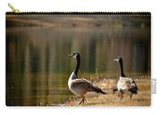 Canada Geese In Golden Sunlight Carry-all Pouch