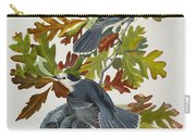 Canada Jay Carry-all Pouch by John James Audubon