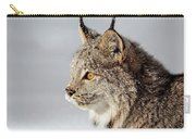 Canada Lynx Up Close Carry-all Pouch