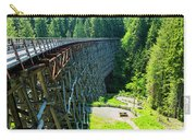 Canada National Historic Wooden Trestle- Kinsol Trestle Near Shawnigan Lake, Bc Canada. Carry-all Pouch