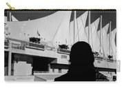 Canada Place Wings Silhouette Carry-all Pouch