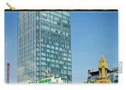 Canadia Bank Tower Skyscraper In Central Phnom Penh City Cambodi Carry-all Pouch