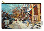 Canadian Art And Canadian Artists Carry-all Pouch