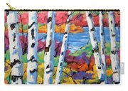 Canadian Birches By Prankearts Carry-all Pouch