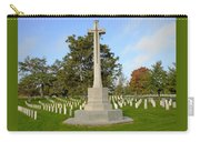 Canadian Cross Of Sacrifice Carry-all Pouch