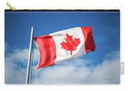 Canadian Flag Flying Proudly Carry-all Pouch