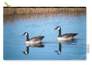Canadian Geese Couple Carry-all Pouch