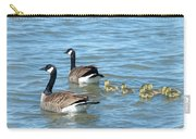 Canadian Geese Family Vacation Carry-all Pouch