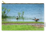 Canadian Geese - Wichita Mountains - Oklahoma Carry-all Pouch
