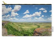 Canadian Prairie At Head-smashed-in Buffalo Jump Carry-all Pouch
