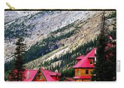 Canadian Red Carry-all Pouch by Karen Wiles