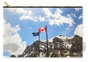 Canadian Rockies - Digital Painting Carry-all Pouch