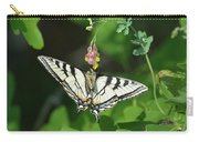Canadian Tiger Swallowtail Butterfly-underside Carry-all Pouch