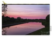 Canal At Sunset Carry-all Pouch