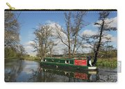 Canal Boat On Wey Navigations Carry-all Pouch