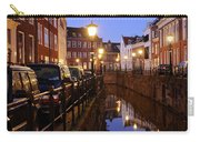 Canal Kromme Nieuwegracht In Utrecht In The Evening 15 Carry-all Pouch