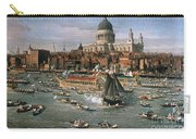 Canaletto: Thames, 18th C Carry-all Pouch by Granger