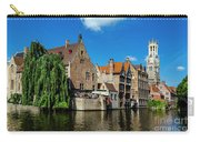Canals Of Bruges Carry-all Pouch