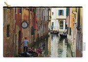 Canals Of Venice Italy Carry-all Pouch