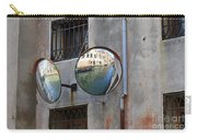 Canals Reflected In Mirrors In Venice Italy Carry-all Pouch