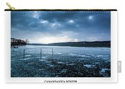 Canandaigua Lake Winter Carry-all Pouch