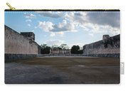 Cancun Mexico - Chichen Itza - Great Ball Court - Open End Carry-all Pouch