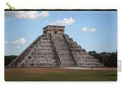 Cancun Mexico - Chichen Itza - Temple Of Kukulcan-el Castillo Pyramid 2 Carry-all Pouch