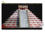 Cancun Mexico - Chichen Itza - Temple Of Kukulcan-el Castillo Pyramid Night Lights 1 Carry-all Pouch