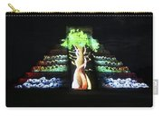 Cancun Mexico - Chichen Itza - Temple Of Kukulcan-el Castillo Pyramid Night Lights 5 Carry-all Pouch