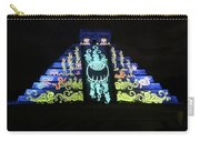 Cancun Mexico - Chichen Itza - Temple Of Kukulcan-el Castillo Pyramid Night Lights 6 Carry-all Pouch