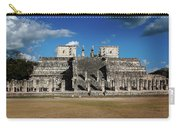 Cancun Mexico - Chichen Itza - Temple Of The Warriors Carry-all Pouch