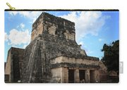 Cancun Mexico - Chichen Itza - Temples Of The Jaguar On The Great Ball Court Carry-all Pouch